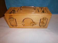 Children Educational Latch & Lock Wooden box