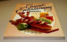 Books, Better Homes and Gardens Casual Entertaining Cook Book, Recipes, HC