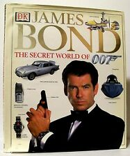 """""""JAMES BOND: THE SECRET WORLD OF 007"""" Movie Reference Book by ALASTAIR DOUGALL"""