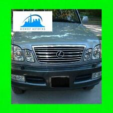 1998-2005 LEXUS LX470 LX 470 CHROME TRIM FOR GRILL GRILLE W/5YR WARRANTY