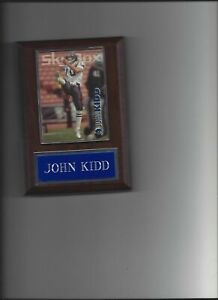 JOHN KIDD PLAQUE SAN DIEGO CHARGERS FOOTBALL NFL   C