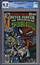 Peter Parker, Spectacular Spider-Man #28 CGC 9.2 NM- Wp 1979 2nd Frank MIller DD