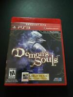 Mint Disc Playstation 3 Ps3 Demon's Souls Game of the Year - Complete Free Post