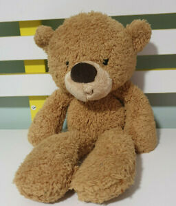 GUND Fuzzy Light Brown Teddy Bear 34cm Soft Plush Toy Kids