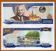 Lao / Laos, 2000 (2,000) Kip, 2003, P-33 (33b), UNC
