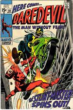 DAREDEVIL #58 - NOVEMBER 1969 - 15¢ SILVER AGE CLASSIC BY STAN LEE & GENE COLAN