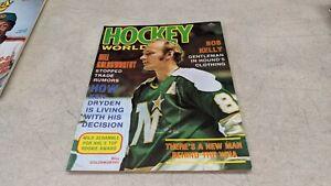 1974 Hockey World NHL WHA Magazine