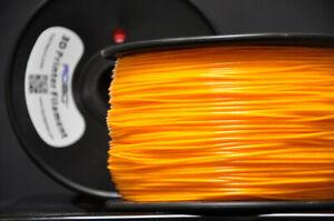 Robo 3d Printer PLA Filament   Tiger Orange   1.75mm   1 kg (2.2lbs)   NIB