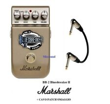 MARSHALL BB-2 Bluesbreaker II PEDALE EFFETTO BOOSTER OVERDRIVE x CHITARRA + CAVO