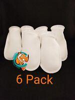 "Six (6) 4"" Filter Socks 4""x10"" Felt 100 Micron sock Aquarium Reef Wet Dry Sump"