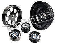 POWERBOND 10% OVERDRIVE RACE PERFORMANCE POWER PULLEY KIT COMMODORE VZ LS1 LS2