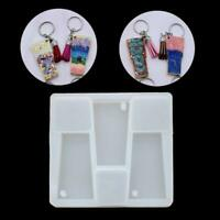 Keychain Pendant Resin Mold  HandmadeTumbler Cup Silicone Mold Glass Cup Jewelry