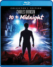 10 TO MIDNIGHT (COLLECTOR'S EDITION) (Region A) BLU RAY - Sealed