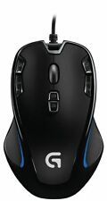 Logitech G300s 9 Button Black Backlit Optical Gaming Mouse Wired USB PC N
