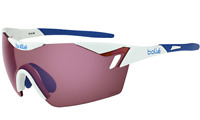 Bolle 6th Sense Sunglasses - 11843 - Shiny White w/ NXT Rose Blue Oleo/AF Lens