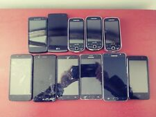 Lot of 11 Cell Phones for Parts or Repairs! Samsung LG ZTE ALCATEL