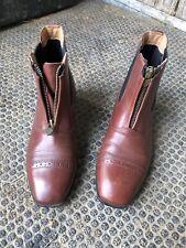 Ariat Challenge square toe (brogued) paddock Boots. 4.5M UNWORN