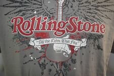 Rolling Stone Magazine gray XL t shirt