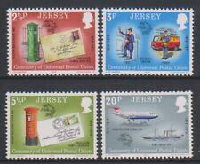 Jersey - 1974 ,Upu Ensemble - MNH - Sg 107/10