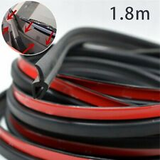 1.8m Rubber Car Glass Panel Seal Front Or Rear Windshield Moulding Strip W/ Tape