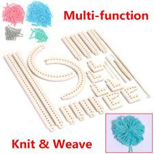 DIY Multi-function Craft Yarn 5000-100 Knitting Board Knit & Weave Loom Kit Tool