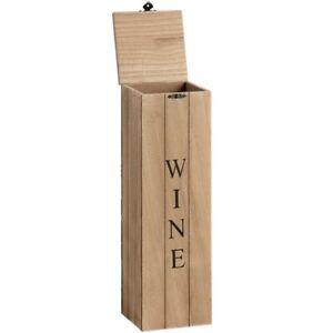 Wooden Wine Box - Style My Pad