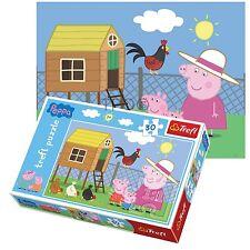 Trefl 30 Piece Kids Unisex Peppa Pig Grandma Hen-House Visit Jigsaw Puzzle NEW