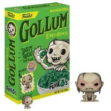 NEW Funko Pop! FunkO's Cereal Gollum Lord Rings Box Lunch Exclusive Pocket Pop