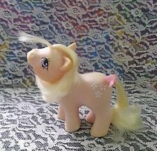 🌼Vintage G1 My Little Pony *BABY BLOSSOM* {Baby Earth Ponies} purple w/ flowers