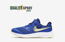 Nike Star Runner 2 Azzurro Scarpe Shoes Bambino Sportive Running AT1801 404 2020