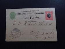 Postcard Carte Postale Brazil Brasil Bresil Marburg 1903