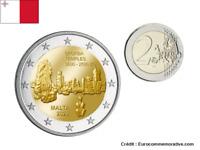 2 Euros Commémorative Malte 2020 Temple Skorba UNC
