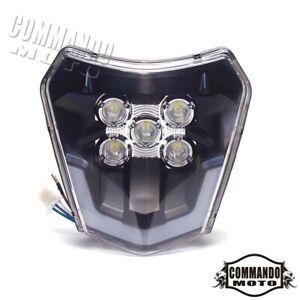 Motocross Enduro Hi/Lo Beam LED Headlight For EXC XC-W SX EXC-F SIX DAYS 250 300