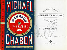 Michael Chabon SIGNED AUTOGRAPHED Manhood For Amateurs ARC READERS PROOF COPY