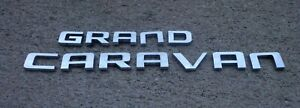Dodge Grand Caravan emblem letters badge decal logo OEM Factory Genuine Stock