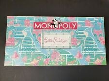 Hasbro 08' Rare Parker Brothers Monopoly Lilly Pulitzer Edition Board Game