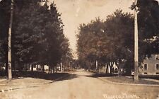 Waseca MN Old Homes Near A Shady Intersection~Dirt Lake Street RPPC c1914