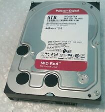 "6TB WESTERN DIGITAL WD60EFAX RED NAS 3.5"" hard disk drive SATA"