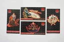 Batman & Robin Movie set of 4 Kenner Toys cards 1997