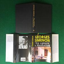Georges SIMENON - TRE CAMERE A MANHATTAN , Euroclub (1998) Libro Cop.Rigida OTT