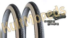 2 white wall tyres 26 TUBE PAS F Simson SR1 NSU Quickly S N 2,00 x 26 Toll