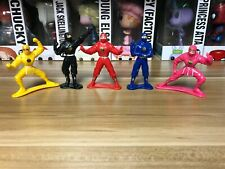 Bandai Mighty Morphin Power Rangers Vintage Lot of PVC Figures Ninja Rangers