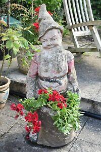 Massive Vintage Garden Gnome -Statement Gnome