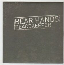(EY988) Bear Hands, Peacekeeper - 2014 DJ CD