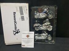 Reward Center Harley Davidson Replica 3 Pack - 2004 Maisto Set #1