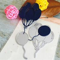 Balloons Metal Cutting Dies Stencil for DIY Scrapbooking Album Cards Decor  xd