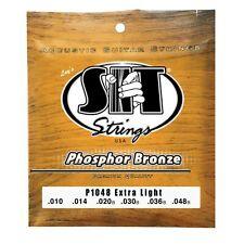 Sit Strings P1048 Extra Light Phosphor Bronze Acoustic Guitar Strings