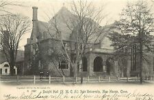 Vintage Postcard Dwight Hall YMCA Yale University New Haven CT