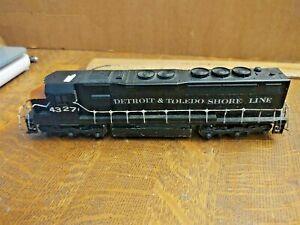 Athearn #4327 Detroit Toledo & Ironton GP40-2  Locomotive HO Scale Runs