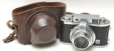 AKAREX III INTERCHANGEABLE Lens Camera w Schneider f:2 lens & Case